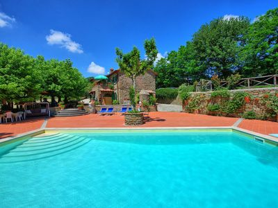 Photo for Casale San Martino - Villa with pool close to Cortona in Tuscany