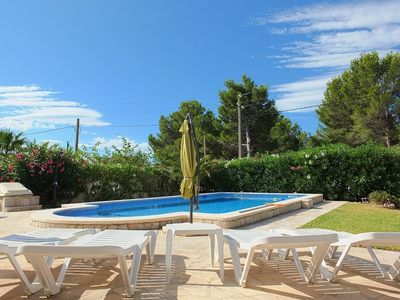 Photo for Beautiful fully air-conditioned villa, heated private swimming pool, & free WIFI