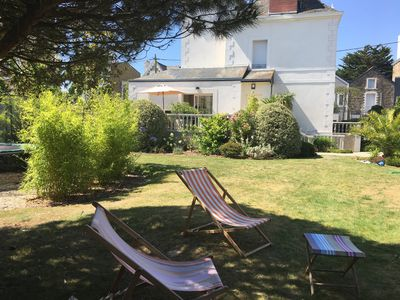 Photo for Saint Malo- Beautiful villa 3mn walking from the nicest beach of France !
