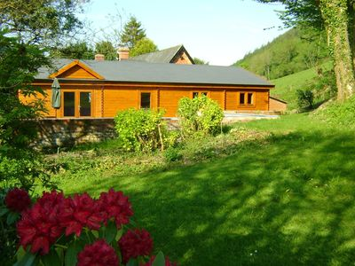 Photo for Forest Lodge- Hot Tub- Kerry Newtown SY16 4DW 3 bedroom, sleeps 6+2 free wifi