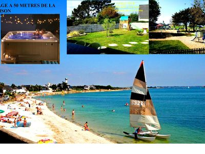 Photo for BRITTANY SOUTH STAY RELAXATION RELAXATION SPA + BEACH + Shower HAMMAM House 1 / 6Pers + BB