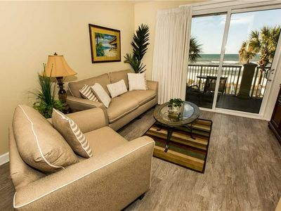 Photo for Modern and Cozy Updated 3rd Floor Unit with Ocean and Pool Views