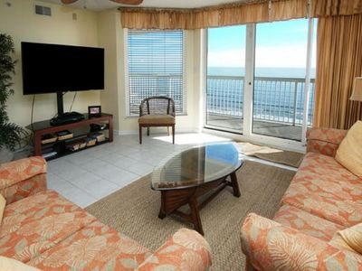 Photo for Sunrise Pointe 11D Beautiful 3 Bedroom Luxury Condo With Large Oceanfront Balcony