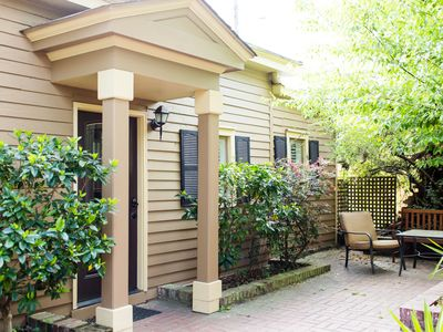 Photo for Stay with Lucky Savannah: One bedroom cottage steps away from Forsyth Park!