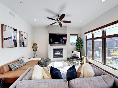 Photo for Walk to Cabriolet Gondola! Brand-New 2BR w/ 2 Balconies, Pool & Hot Tub