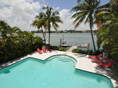 Photo for NoBeVIP: Modern CARIBBEAN HOUSE with pool and fantastic bay view !