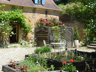 Photo for Le Fenil at Les Girouteaux 3 lovely 4 star Gites with pool set in superb gardens
