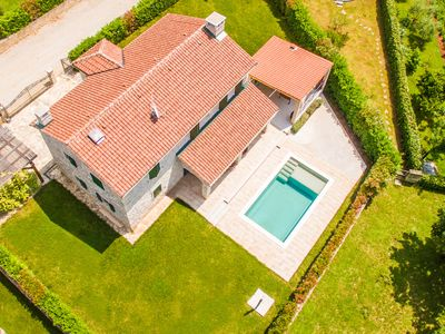 Photo for Villa Dracena, lovely Istrian villa with swimming pool and outdoor kitchen