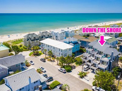 Photo for Lovely Oceanside townhouse with ocean views and just steps to the beach!