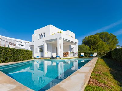 Photo for SA CALETA - Villa with private pool in Cala Egos (Santanyi).