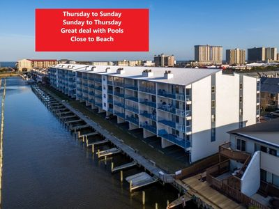 Photo for Pools - Waterview - 2 BR - Close to Shopping and BEACH