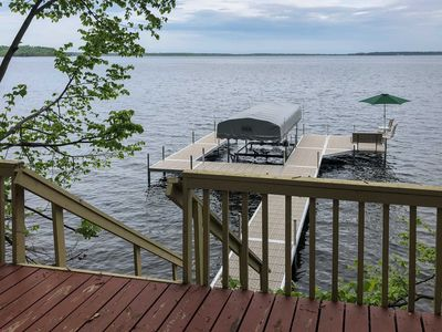 Photo for Waterfront Nisswa Home on Gull Lake w/Private Dock