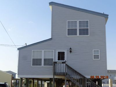 Photo for Waterfront Tuckerton Beach home with dock looking out to LBI