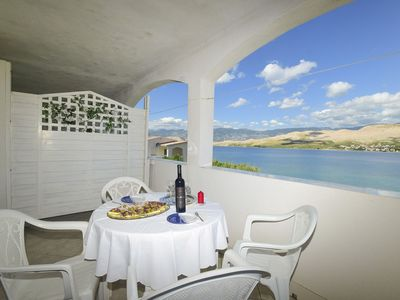 Photo for Apartments Smail (25291-A1) - Pag - island Pag