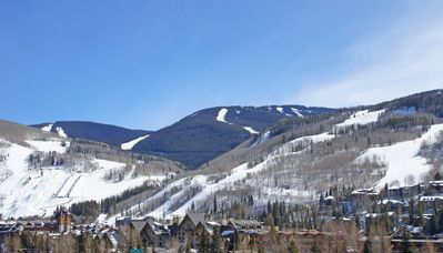 View of Vail Village and the condo