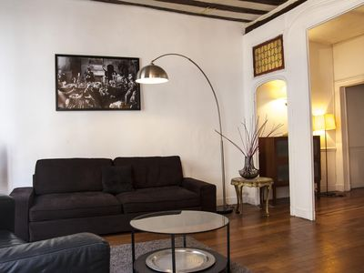 Photo for Beautiful & Spacious flat in the heart of Saint Germain - Central Paris