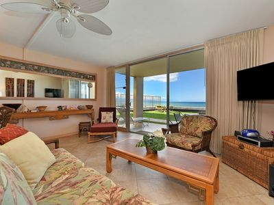 Photo for Spectacular Oceanfront Condo! Corner Groundfloor Unit , Steps To The Ocean #106