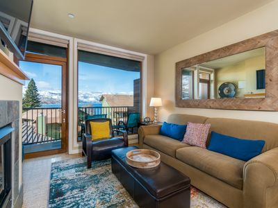 Photo for Chelan Resort Suites #303 - 1 bed,1 bath  View Condo steps to the lake