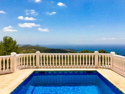 Photo for Villa for 8 people with spectacular panoramic views