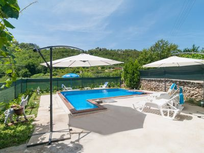 Photo for 3 bedroom Villa, sleeps 8 in Zvečanje with Pool, Air Con and WiFi