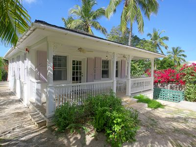 Photo for Historic 2BR 2BA Island Cottage on Private Estate