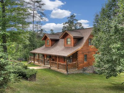 Photo for The Mountains are calling! Come see us soon!! Fishing pond, Pigeon Forge ,Arcade game, Hot Tub