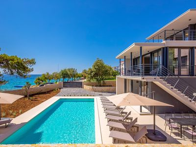 Photo for Modern Villa Luca, near Zadar, with a Pool