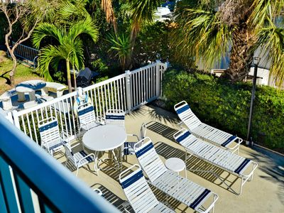 Catch some sun on the pool deck.