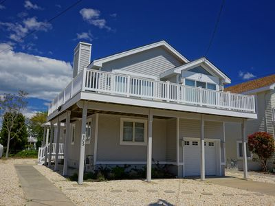 Photo for JUST a block to Avalon's beautiful beaches. SPACIOUS 2ND FLOOR DECK.