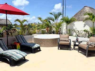 Photo for Aldea Zama Tulum Penthouse With Private Roof Top Patio