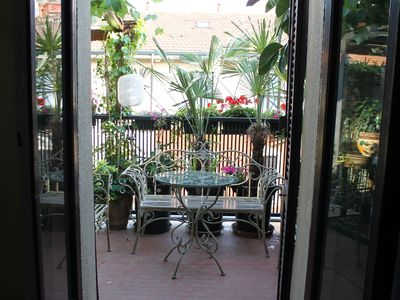 Photo for PENTHOUSE WITH TERRACE DOOR ROMAN