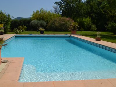 Photo for STUDIO & SWIMMING POOL at 35 kms from SAINT-TROPEZ