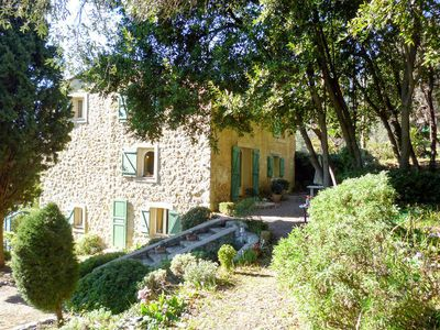 Photo for Vacation home Le Clermont  in Chateauneuf, Côte d'Azur - 6 persons, 3 bedrooms