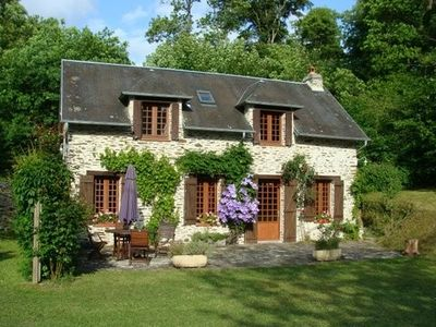 Photo for 2BR Cottage Vacation Rental in Planquery, Normandie