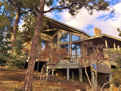 Photo for Beautiful Home Surrounded by Tall Pines and Awesome Mountain Views