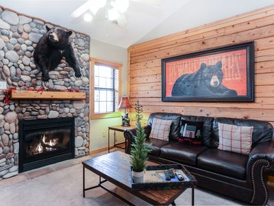 Photo for Beautifully themed and Professionally Decorated Cabin in the Heart of Branson!