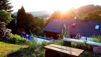 "Photo for Holiday in a cottage in ""Haus am Horn"" in the heart of Saxon Switzerland"