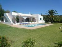 This is a great isolated and private villa with views from the roof and nice big garden and pool.
