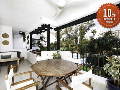Photo for Modern 2 bedrooms apartment in Medina Garden - Puerto Banus