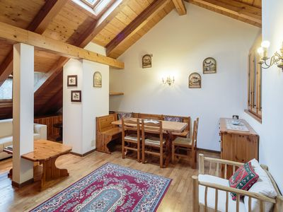 Photo for Apartment ideal for families with less than 2 kilometers from the center of Cortina