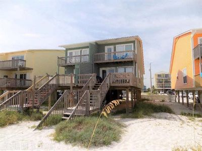 Relax in a Beautiful Ocean Front Beach Duplex - Late Summer Weeks Available!!