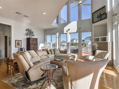 Photo for Steps to Sand & Surf - Luxury Home w/Steller Gulf Views