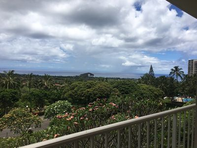 View of the pacific for the mini balcony