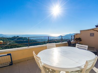Photo for LES HAUTS DU GRAND DUC - Vue mer incroyable - Apartment for 4 people in Mandelieu-la-Napoule