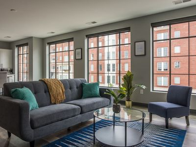 Photo for Bright + Open Loft Near The River & Commons