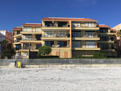 Condo Building with only 18 units, view from the beach