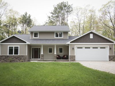Photo for Newly Constructed 1900 sq foot home, located on Private road and 6 wooded acres