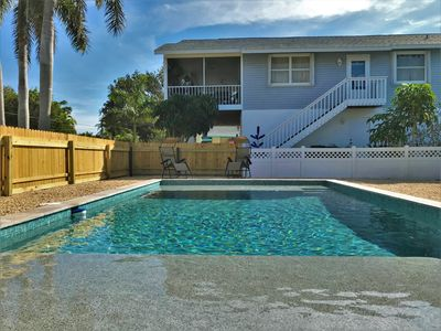 Photo for Beach Side Vacation Rental With Heated Pool Within Walking Distance to Beach