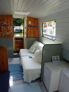 Photo for Promotion Boat Studio 2 adults possibility children