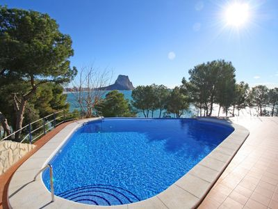 Photo for Cozy 9H Vistahermosa apartment with pool, terrace and sea views in Calpe